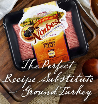 The Perfect Recipe Substitute - Ground Turkey
