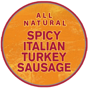 Spicy Italian Turkey Sausage - Hot