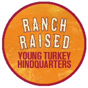 Young Turkey Hindquarter Roast