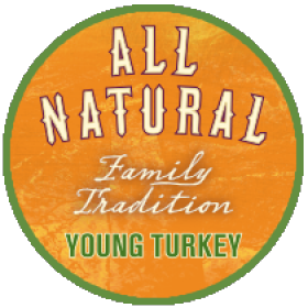 Family Tradition All Natural Young Turkey