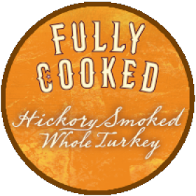 Norbest hickory smoked whole turkey