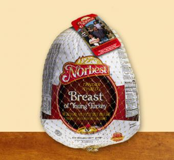 Norbest tender timed turkey breast with ribs